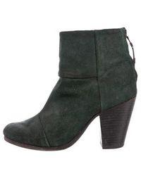 Rag & Bone - Suede Newbury Ankle Boots - Lyst