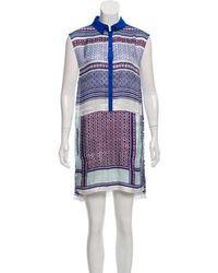 MAX&Co. - Sleeveless Printed Dress - Lyst