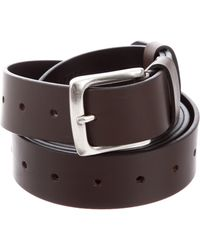 Vetements - Leather Buckle Belt W/ Tags Brown - Lyst