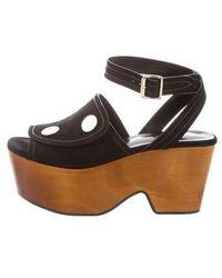 Derek Lam - Suede Wedge Sandals W/ Tags - Lyst
