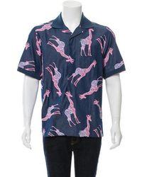 Louis Vuitton - Chapman Brothers Giraffe Print Shirt W/ Tags - Lyst