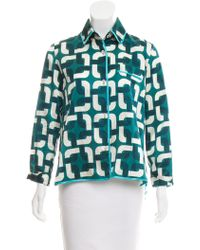 For Restless Sleepers - Printed Pajama Top - Lyst