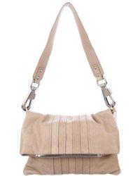 Philosophy di Alberta Ferretti - Leather Shoulder Bag Beige - Lyst