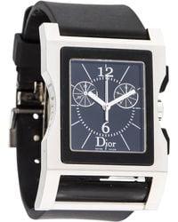 Dior - Chris 47 Watch Black - Lyst