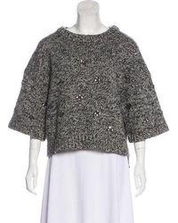 Day Birger et Mikkelsen - Wool Embellished Sweater - Lyst