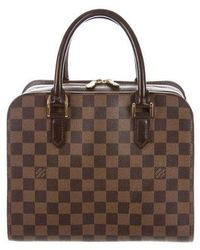 Louis Vuitton - Damier Ebene Triana Bag - Lyst