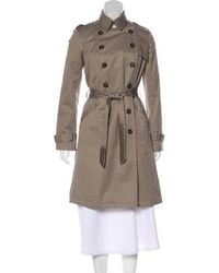 Gryphon - Embellished Trench Coat Neutrals - Lyst