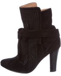 Ulla Johnson - Suede Wrap-around Boots - Lyst