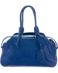 Vivienne Westwood - Leather Dome Satchel Blue - Lyst