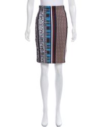 Clover Canyon - Bodycon Printed Skirt - Lyst