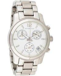 2e1862c86b7c Lyst - Michael Kors Ladies Watch in Metallic
