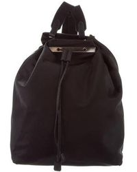 The Row - Nylon Backpack 11 Black - Lyst