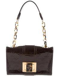 Louis Vuitton - Vernis Vermont Avenue Bag Brass - Lyst
