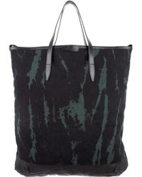 Dries Van Noten - Tie Dye Canvas Tote - Lyst