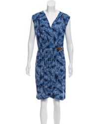 MICHAEL Michael Kors - Michael Kors Sleeveless Knee-length Dress - Lyst