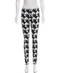 Theyskens' Theory - Mid-rise Skinny Pants - Lyst