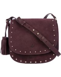 UGG - James Saddle Bag W/ Tags Gold - Lyst