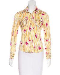 Dior - Vintage Embellished Top - Lyst