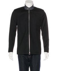 Dior Homme - Denim-trimmed Wool Jacket Black - Lyst