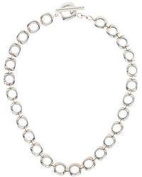 Tiffany & Co. - Cushion Link Necklace Silver - Lyst