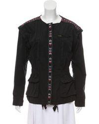 Day Birger et Mikkelsen - Embroidered Collarless Jacket Multicolor - Lyst