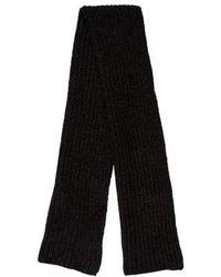 Étoile Isabel Marant - Alpaca Knit Scarf Grey - Lyst