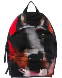Givenchy - Leather-trimmed Printed Backpack - Lyst