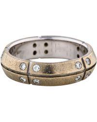 Tiffany & Co. - 18k Streamerica Band Silver - Lyst