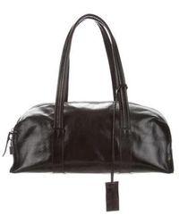 Narciso Rodriguez - Leather Shoulder Bag Black - Lyst