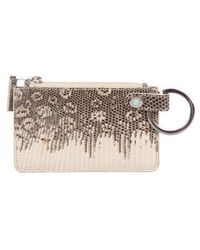 Tiffany & Co. - Ring Lizard Coin Pouch Brown - Lyst