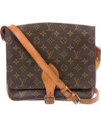 Louis Vuitton - Monogram Cartouchière Mm Brown - Lyst