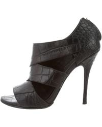 Elizabeth and James - Embossed Leather Cutout Booties - Lyst