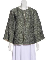 Chanel - Paris-bombay Tweed Jacket Grey - Lyst