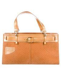 Dior - Vintage Diorissimo Bag Gold - Lyst