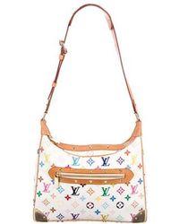 Louis Vuitton - Multicolore Boulogne Bag White - Lyst