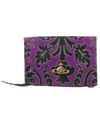 Vivienne Westwood - Let It Rock Zip Pouch Purple - Lyst