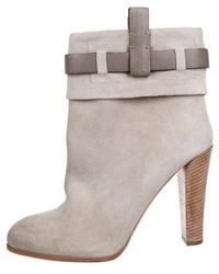 Reed Krakoff - Suede Ankle Boots Neutrals - Lyst