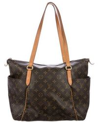 Louis Vuitton - Monogram Totally Mm Brown - Lyst