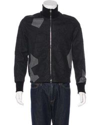 3.1 Phillip Lim - Geometric Wool Jacket Grey - Lyst