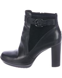 Tod's - Leather Ankle Boots - Lyst