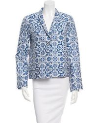 Creatures of the Wind - Long Sleeve Printed Blazer - Lyst