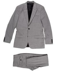 Sandro - Wool Cropped Suit Grey - Lyst