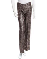 Alessandro Dell'acqua - Tailored Brocade Pants - Lyst
