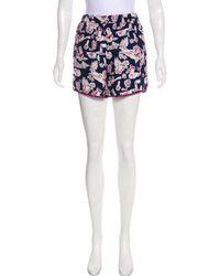 Piamita - Silk Pajama Shorts - Lyst