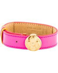 Louis Vuitton - Monogram Wish Bracelet Gold - Lyst