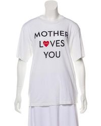 Mother - Printed T-shirt W/ Tags - Lyst