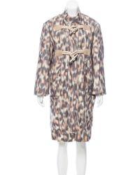 CALVIN KLEIN 205W39NYC - Wool & Cashmere Coat W/ Tags Grey - Lyst