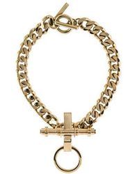 Givenchy - Obsedia Collar Necklace Gold - Lyst