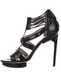 Jason Wu - Platform T-strap Sandals - Lyst