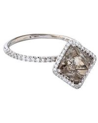 Diamond In The Rough - 5.54ct Covet Engagement Ring White - Lyst
